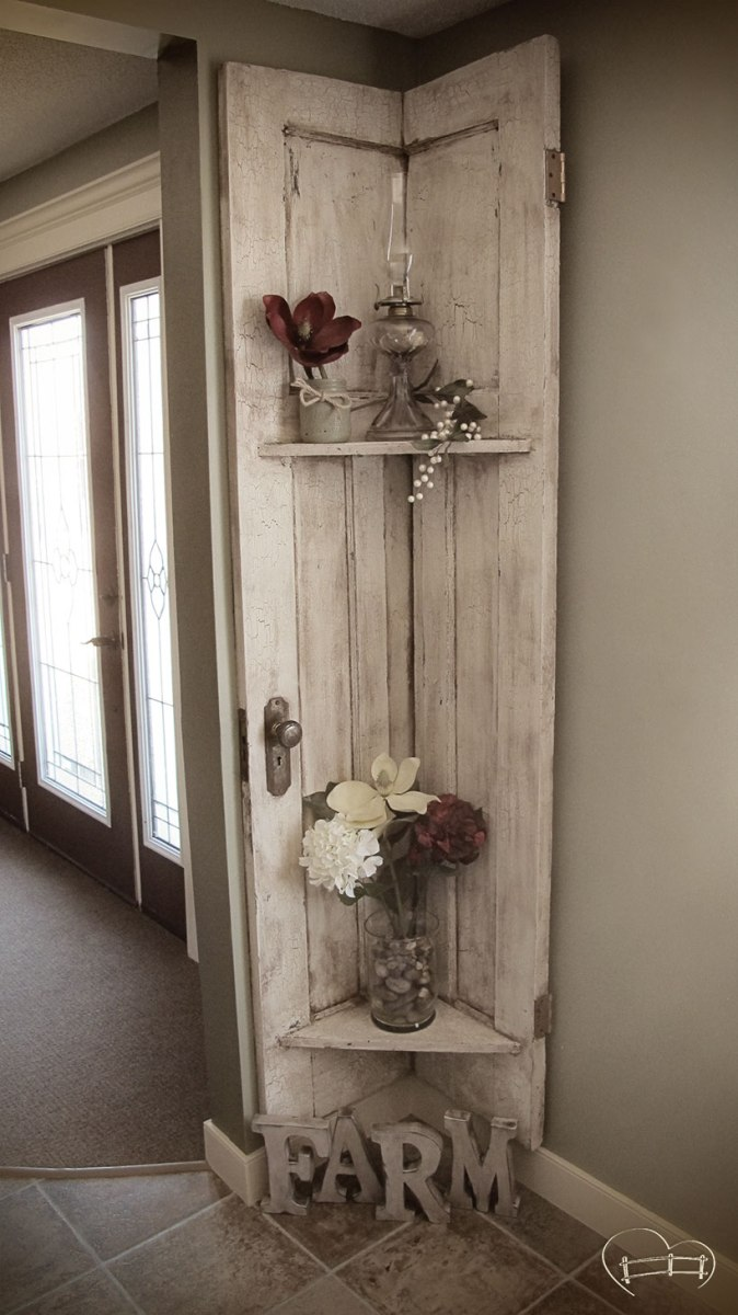 Almost demolished repurposed barn door decor farm life for Repurposed home decorating ideas