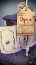 SOLD to Dyane <3