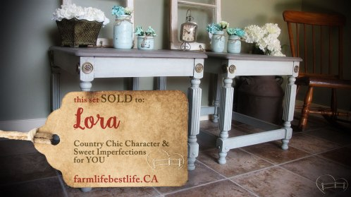 SOLD to Lora <3