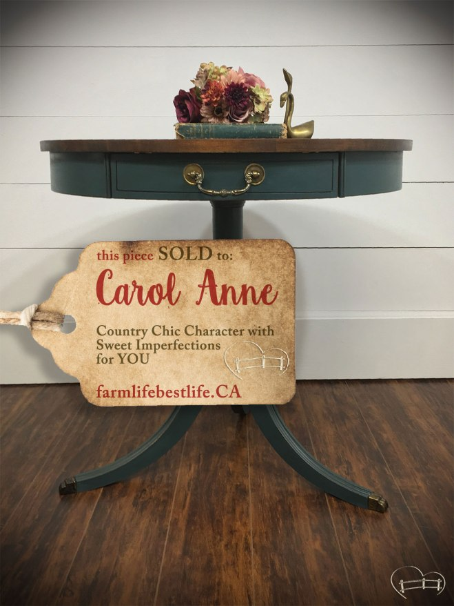 SOLD to Carol Anne <3
