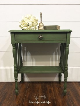 March 2018 ~ Entryway Table