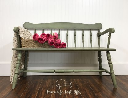 July 2018 ~ Down Home Farmhouse Bench